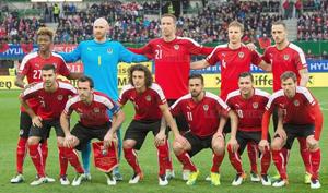 L'Autriche avec ses Champions pour l'Euro 2016 !
