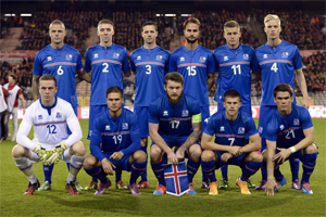 Equipe Islande