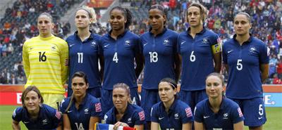 Equipe de France Football Féminine