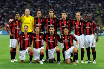 Le Milan AC qui rencontrera Torino en Coupe d
