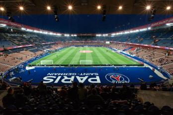 Monaco qui rend visite au PSG au Parc des Princes