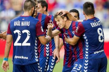 Eibar devrait gérer son avance face à Osasuna