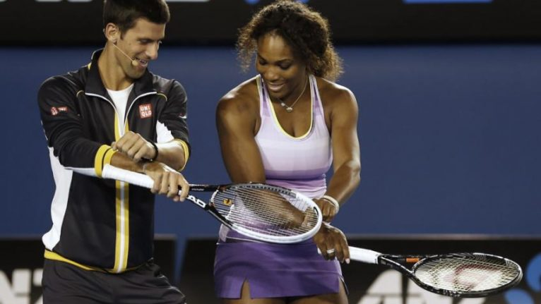 Serena Williams Novak Djokovic